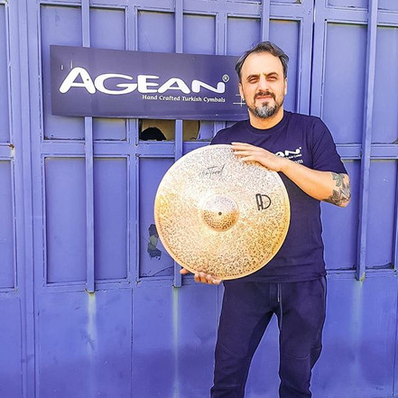 Thanks for these wonderful cymbals Agean