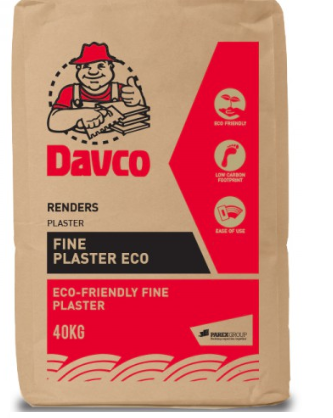 Davco Fine Plaster ECO (40kg)