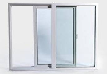 Aluminium Sliding Window Frame w Glass