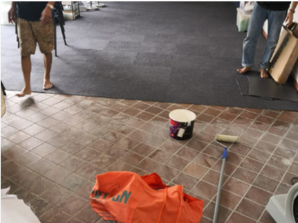 Carpet Tile Supply + Installation