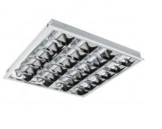 Recessed Lighting Louvre full set with 3 tubes ( Fluorescent)