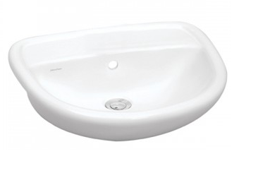 Johnson Suisse Venice Semi-Recessed Basin
