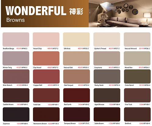 Ion Paint Brown Catalogue
