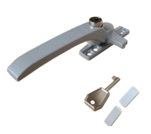 Casement Window Handle with Key