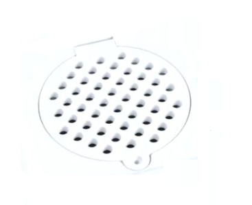 Square Grating / Floor Trap (PVC / Stainless Steel)