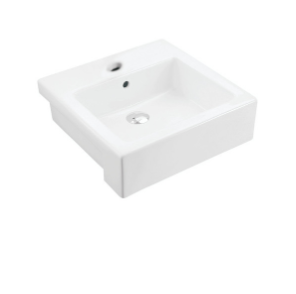 Johnson Suisse Trezzo 480 Semi-recessed Basin