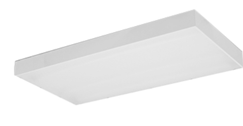 Surface Mounted Fitting w Diffuser (LED)