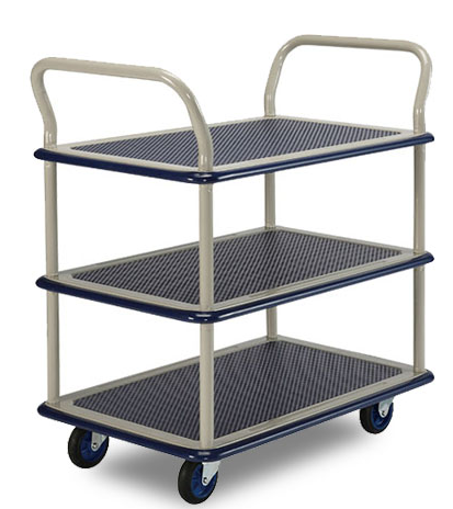 3 Tier Trolley 740 x 480mm 150kg w 2 Handles