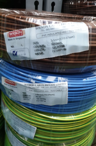 PVC Insulated 450/750V Cable