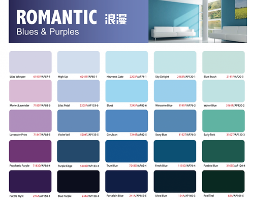 Ion Paint Blue & Purple Catalogue