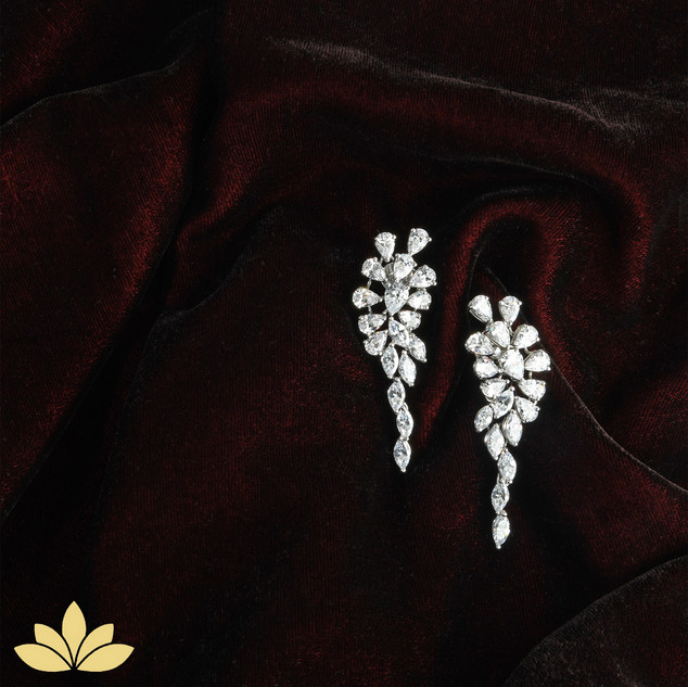 Cluster to Fall Earrings
