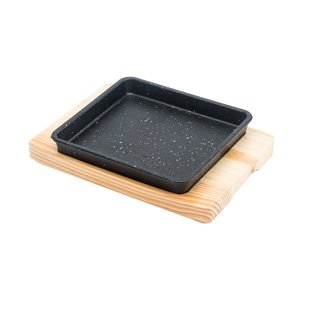 Square Sizzler Plate