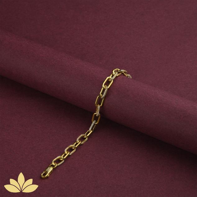 WB07 - Embellished Chain Bracelets