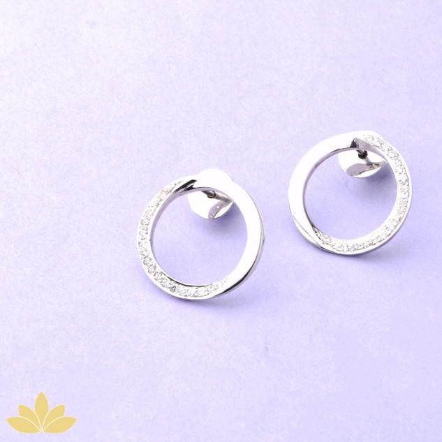 E028 - Circle Earrings