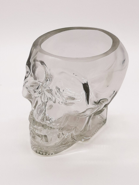 Skull Shape Whisky Glass
