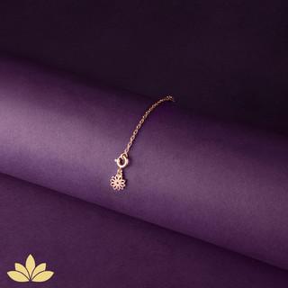 Rose Gold Watch Charm - Calendula - Octo
