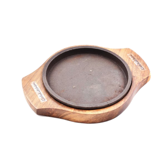 Round Sizzler Plate