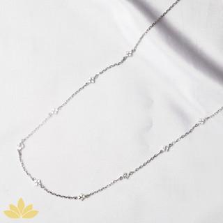 N006 - Diamond Shaped Short Necklace