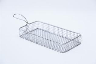 Flat Rectangle Mesh Basket