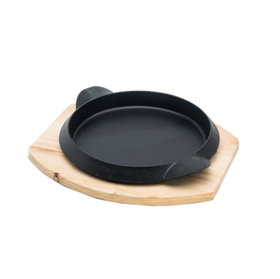 Round Sizzler Plate With Handle