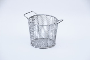 Round Basket With Two Side Handles