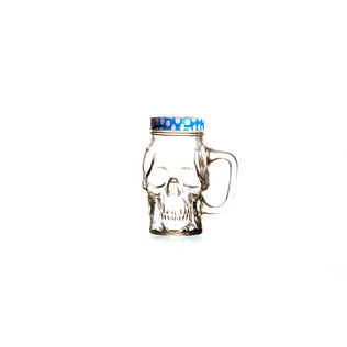 Skull Mason Jar