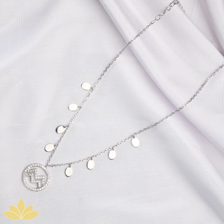 Customisable Disc Necklace