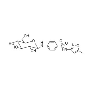 Benzenesulfonamide, 4-(β-D-glucopyranosylamino)-N-(5-methyl-3-isoxazolyl)
