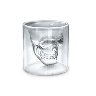Double Wall Skull Shot Glass