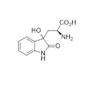 1H-Indole-3-propanoic acid, alpha-amino-2,3-dihydro-3-hydroxy-2-oxo-, (αS)-