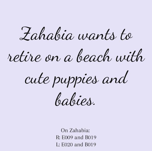 Zahabia