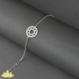 B018 - Intricate Circle Bracelet