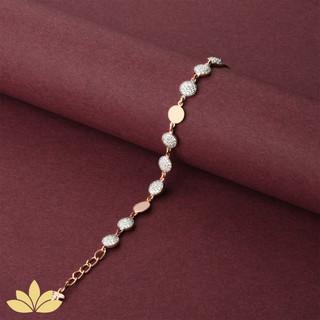 WB01 - 3 to 1 Circle Bracelet in Rose Gold