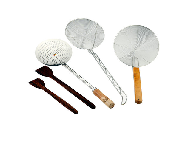 Wooden Cooking Tools & Skimmers