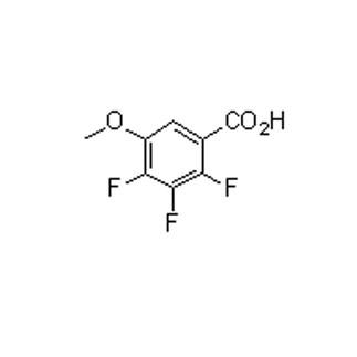 Benzoic acid, 2,3,4-trifluoro-5-methoxy