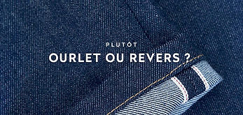 Ourlet ou revers