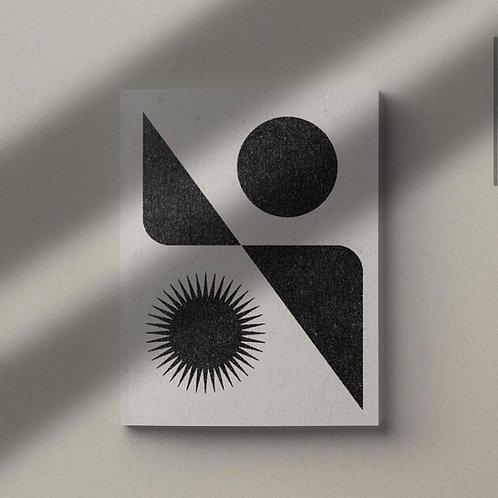 Art print  'Lunar Solar'