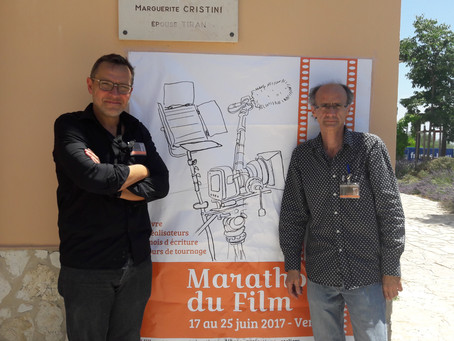 Rencontre avec Frédéric Lamasse et David Rivière, organisateurs du Marathon du Film de Vence