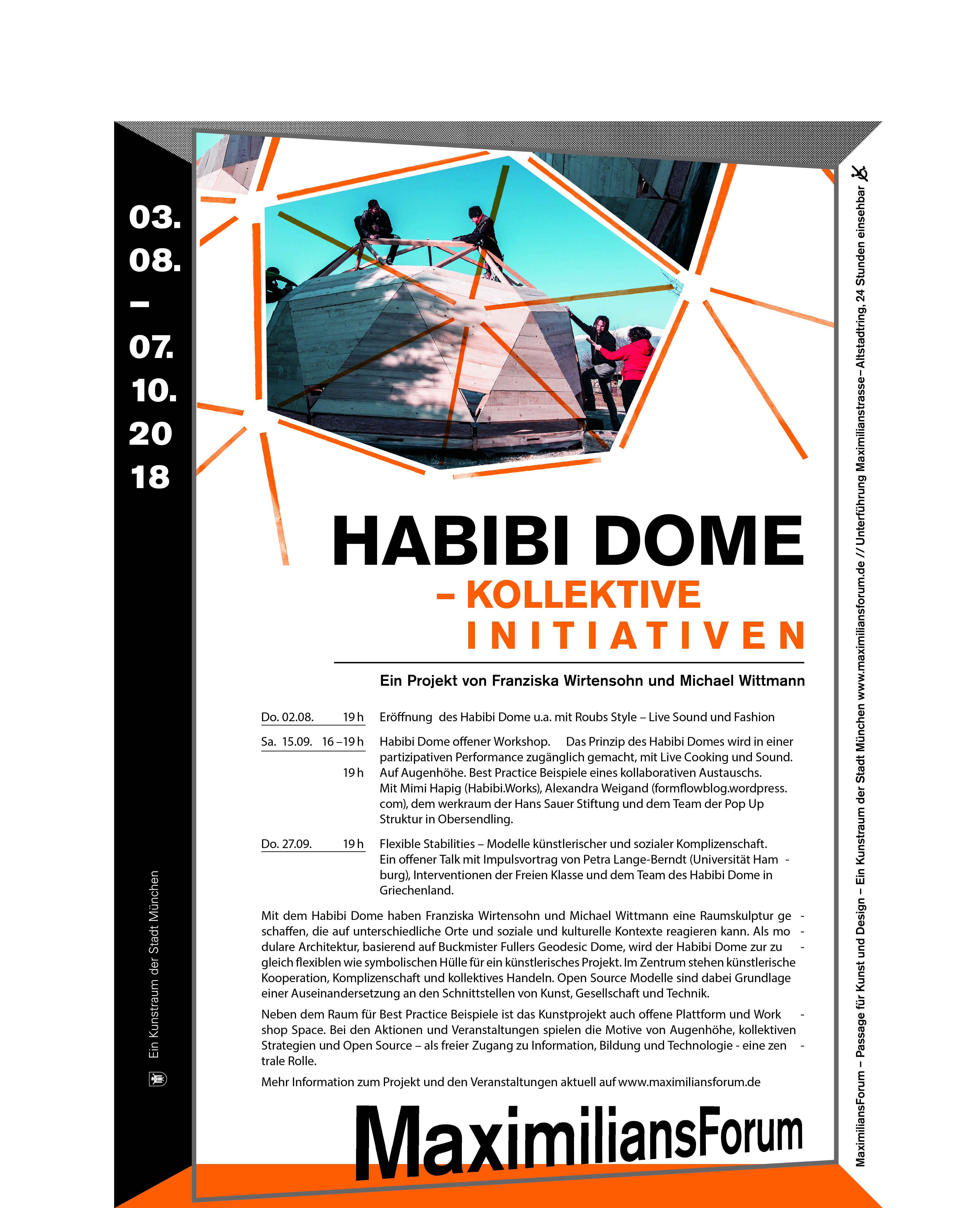 plakat_A3_Habibi Dome_1