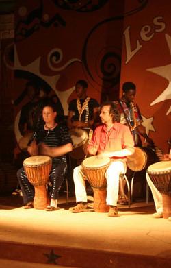 Optreden in Burkina