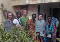 Vertrek in Burkina