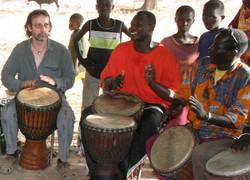 Dorpsfeest in Mali