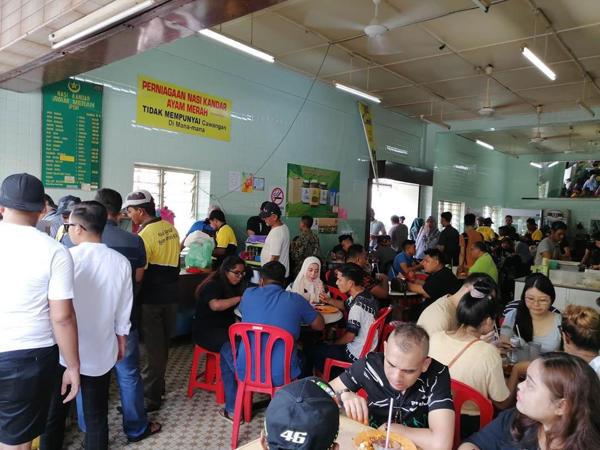 Popular Nasi Ganja Kedai Kopi Yong Suan In Ipoh