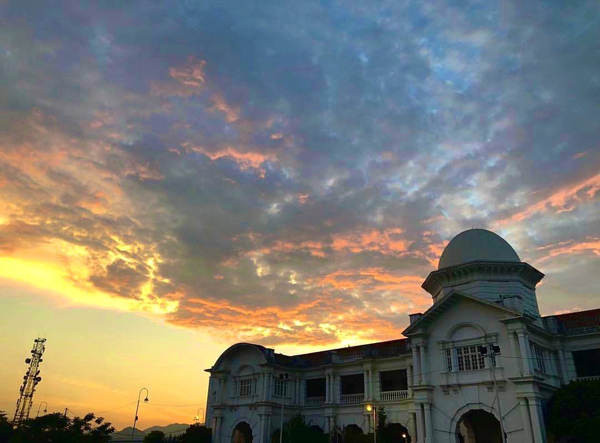 Sunset At Ipoh Railway Station