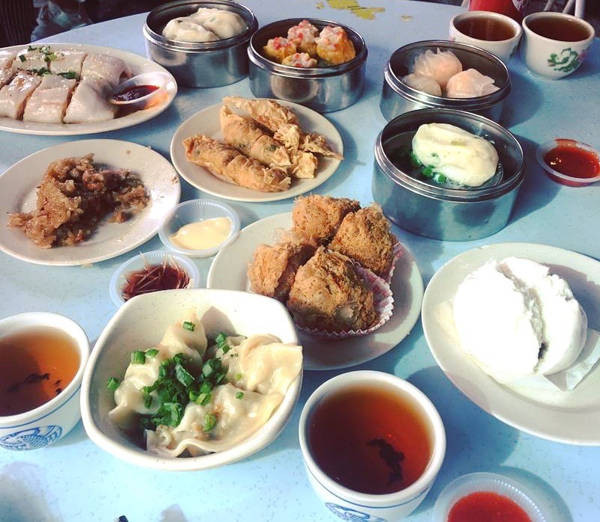 Dim Sum Spread At Chooi Yue Dim Sum In Ipoh