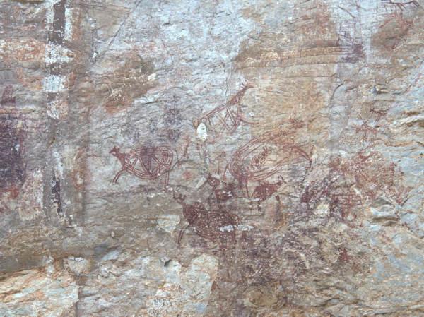 Prehistoric Cave Drawings At Gua Tambun