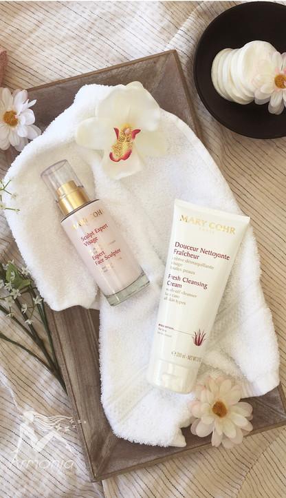 Expert Face Sculptor & Fresh Cleansing Cream