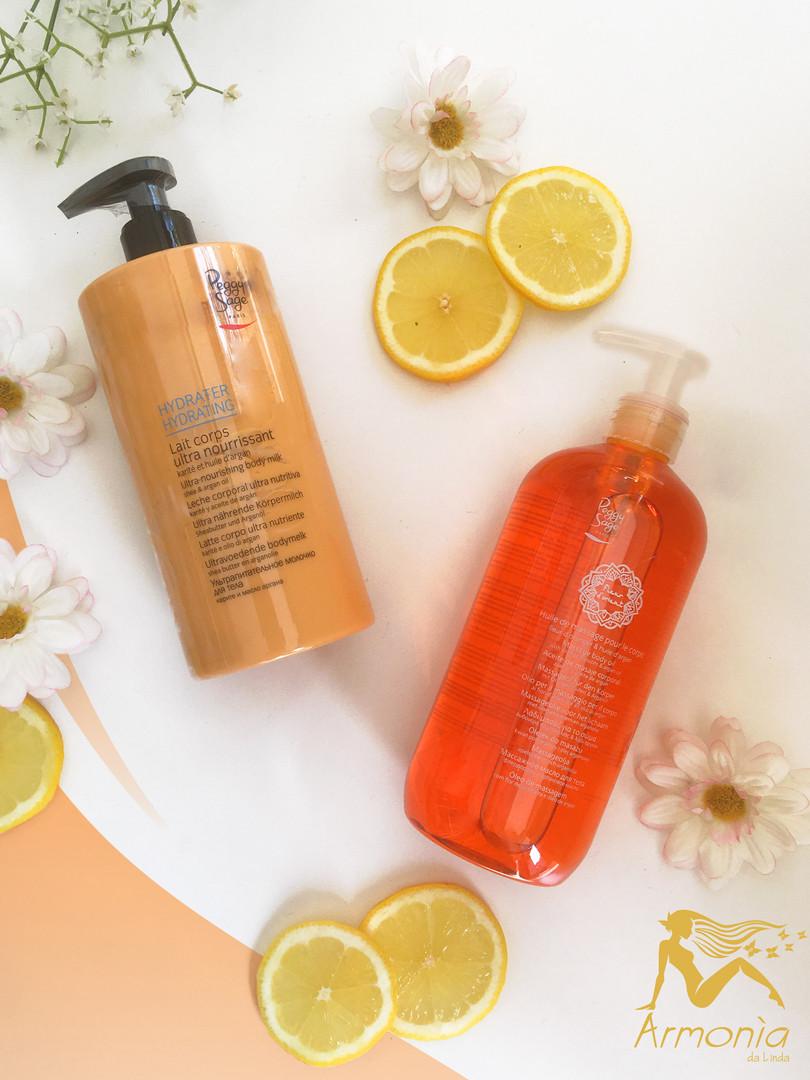 Body Milk and Massage Oil