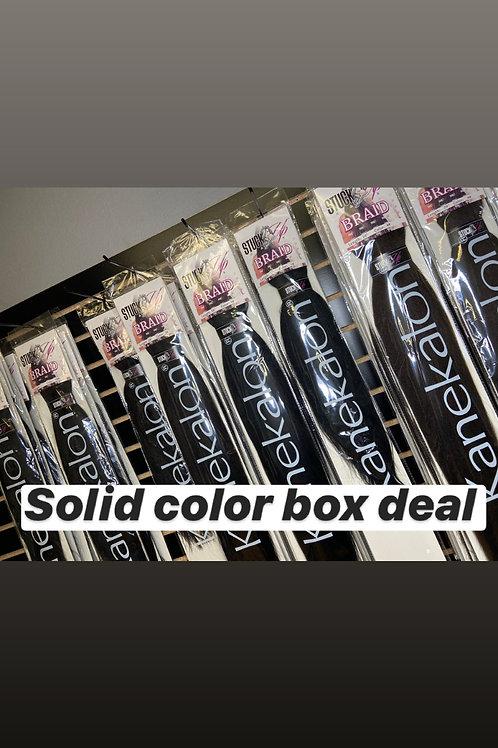 50 Packs Solid Color Deal