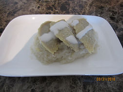 Thai Custard with Sweet Sticky Rice.JPG
